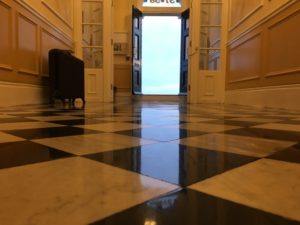 Marble floor cleaner Polisher Restoration Winchester West Sussex