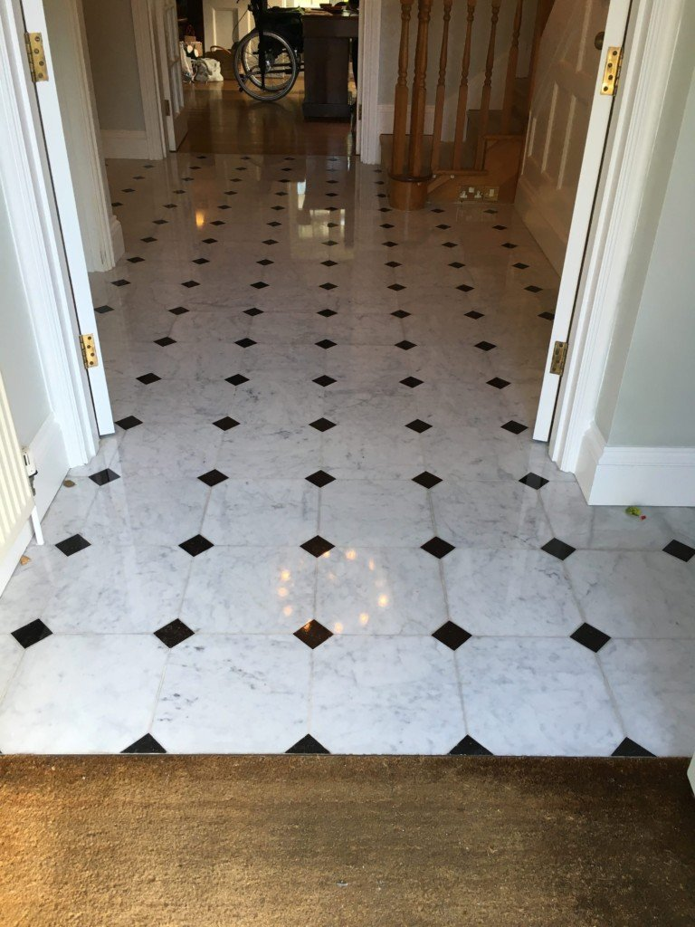 Marble Inlay Flooring Service : Marble floor restoration cleaning polisher sealing