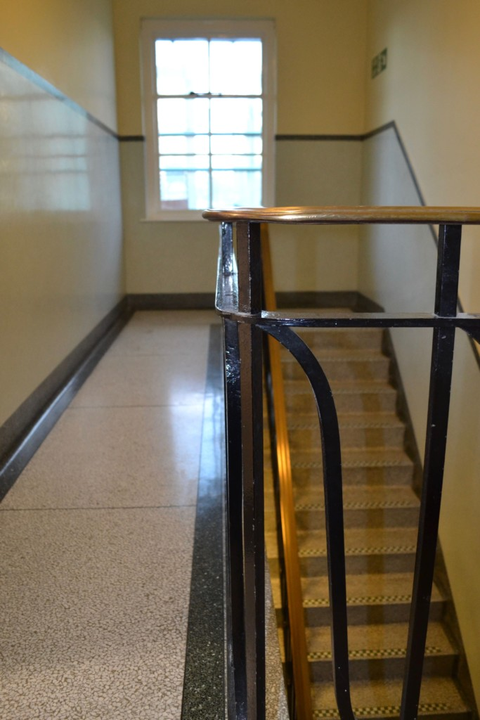 Terrazzo stair restoration cleaner cleaning company Eastbourne East Sussex Surrey Hampshire Kent