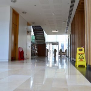 Limestone Floor Restoration Ascot Berkshire
