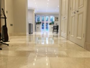 Marble floor Cleaner Cleaning Sealing Restoration Company Bagshot Oxshott Esher Weybridge Surrey