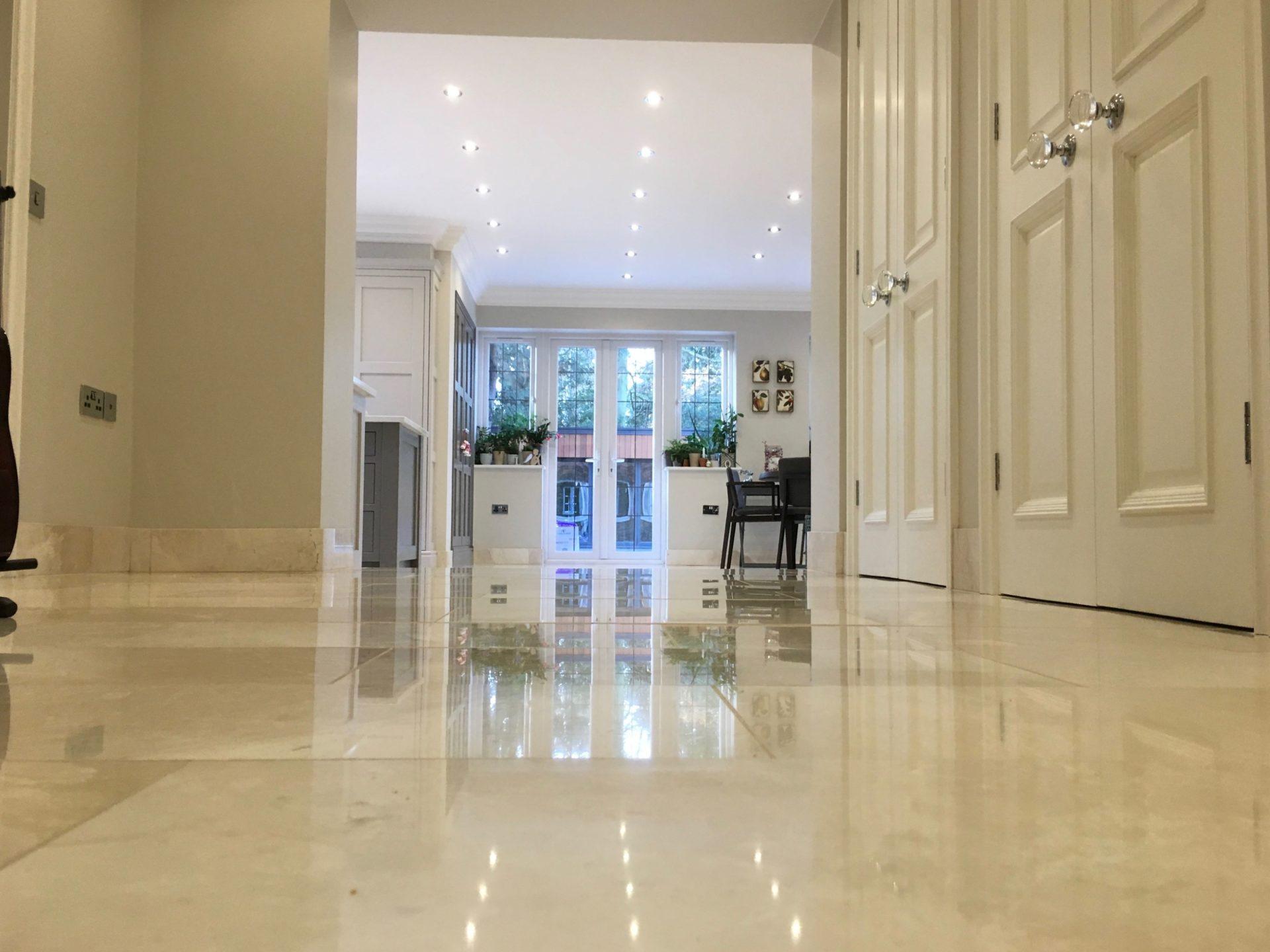 Marble Floor Restoration Cleaner Polisher Cleaning Sealer Weybridge Surrey