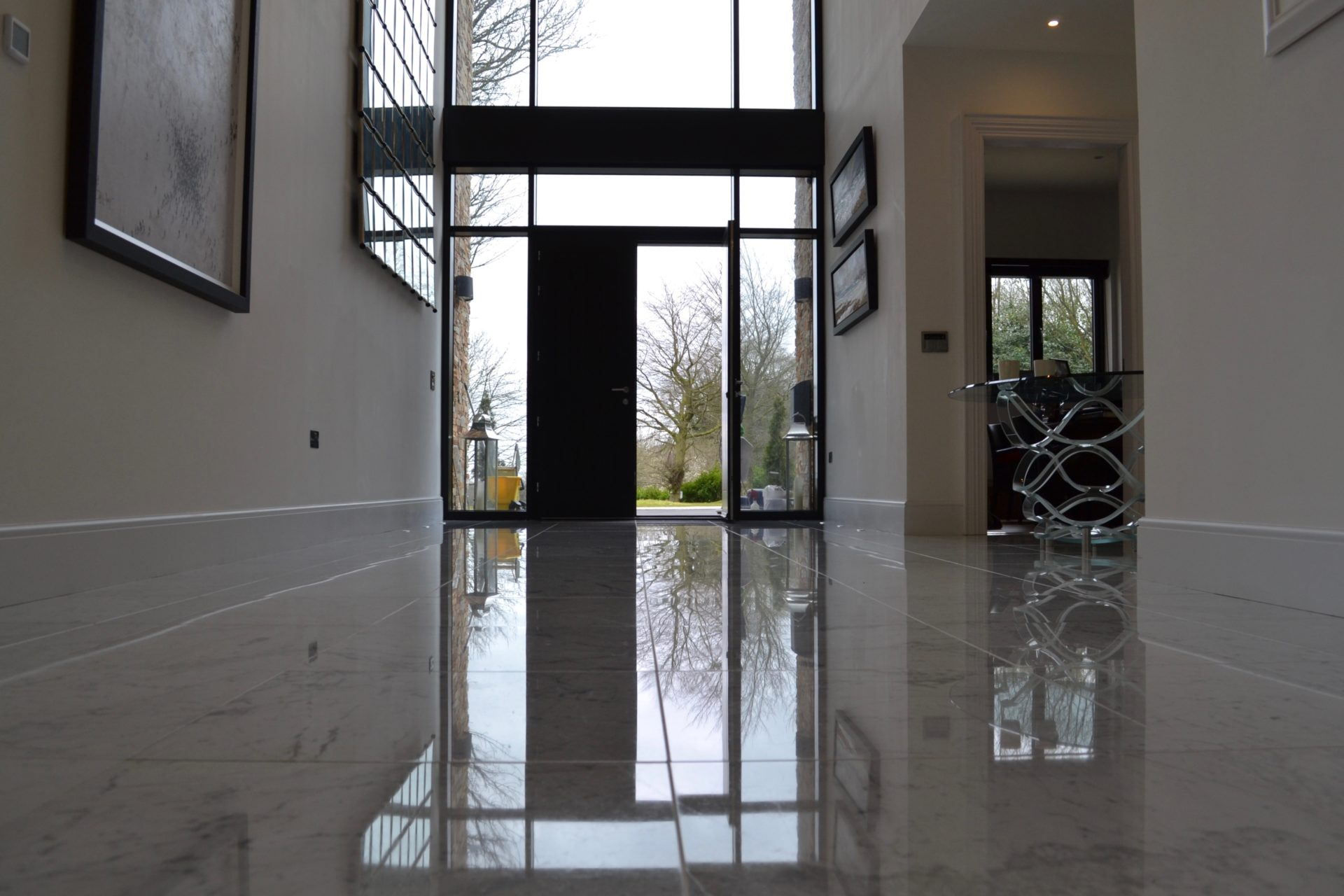 Marble floor cleaner cleaning restoration sealing company Oxshott Cobham Esher Weybridge Surrey