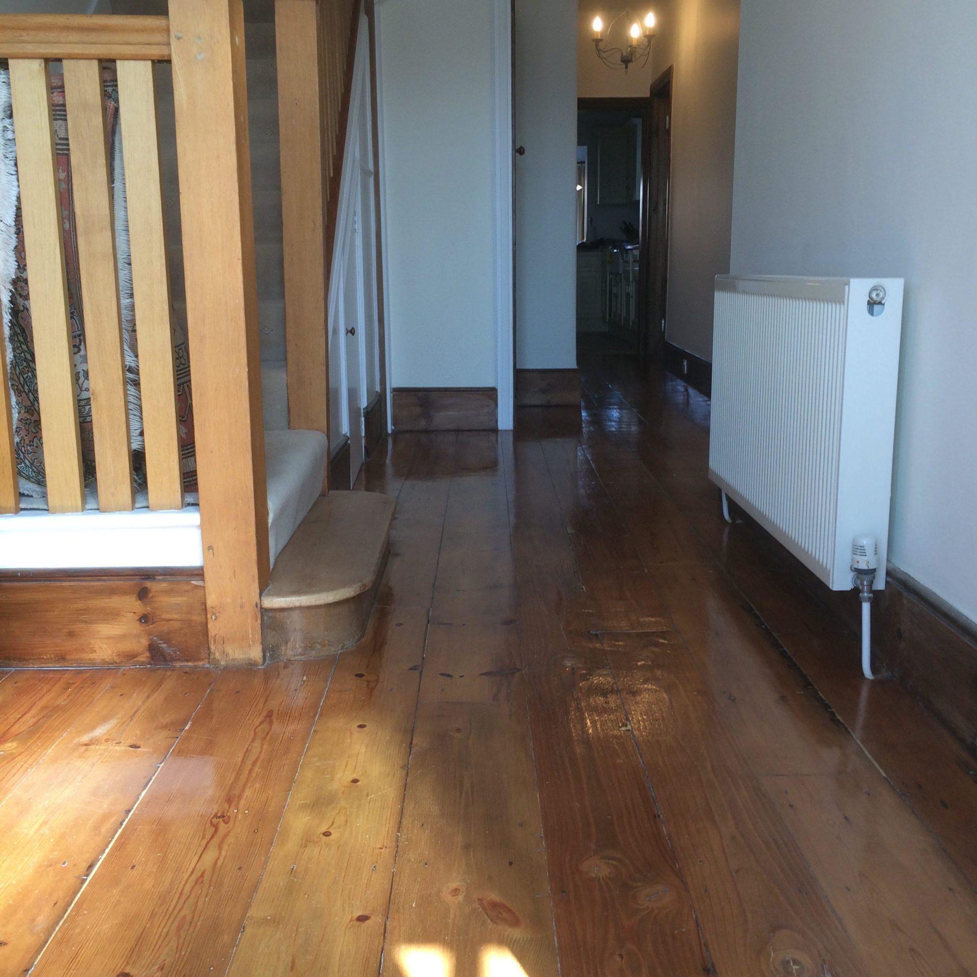Oak wood floor cleaner polisher waxing worthing east for Wood floor disinfectant