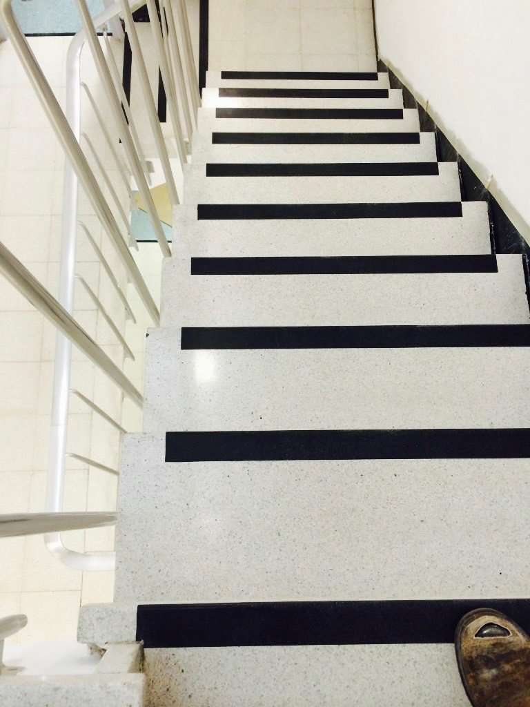 Terrazzo Stair Restoration Cleaner Cleaning Polishing East Sussex Surrey  Hampshire Kent