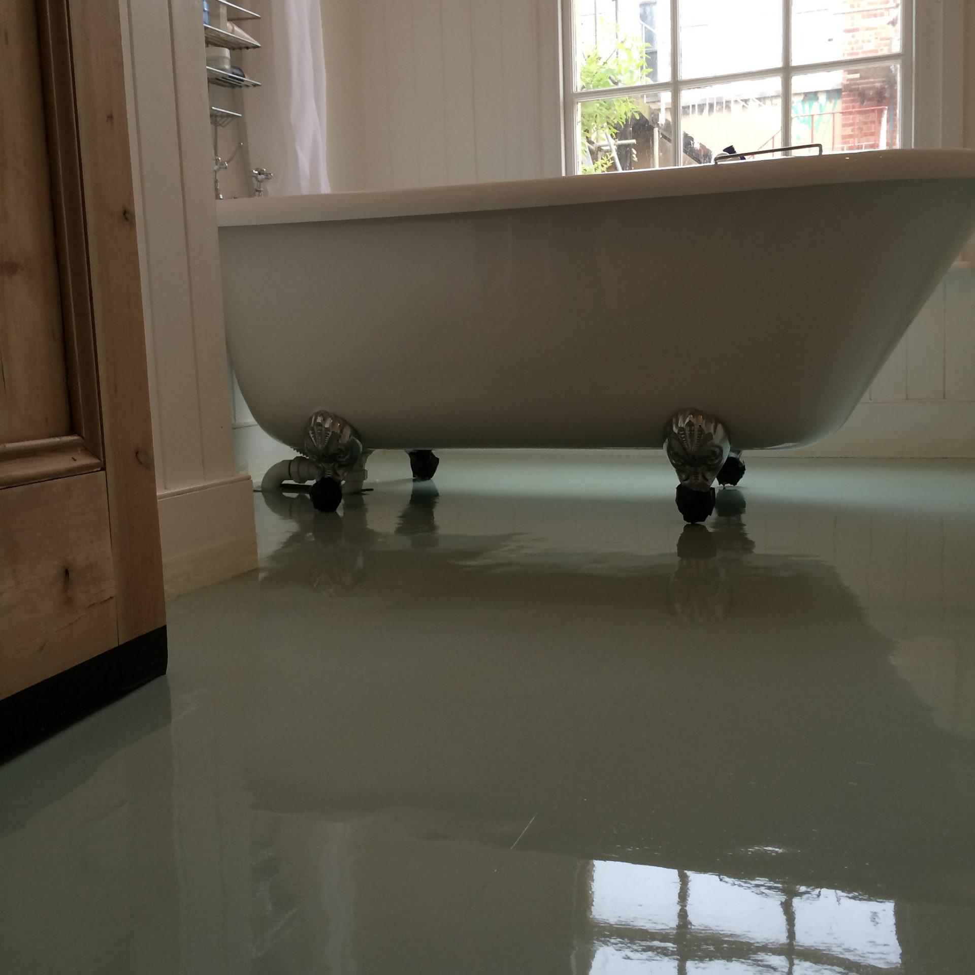 Vinyl Bathroom Floor Cleaner Sealer Brighton Hove East Sussex Floor Polishing Services Ltd