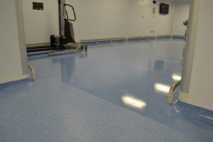 Vinyl floor cleaner Stripping sealing maintenance company Kent Surrey Surrey Hampshire