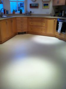 Vinyl kitchen floor cleaner sealer sealing Lewes East Sussex