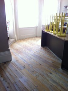 Wood floor cleaner polisher waxing buffing Brighton Hove East Sussex