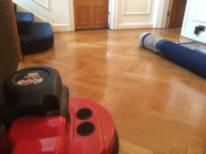 Wood floor cleaning waxing polishing company Brighton Hove East Sussex