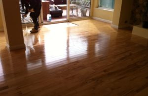 Laminate floor cleaning polishing maintenance West Sussex
