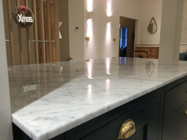 Kitchen worktop cleaner cleaning sealing Brighton Hove East Sussex