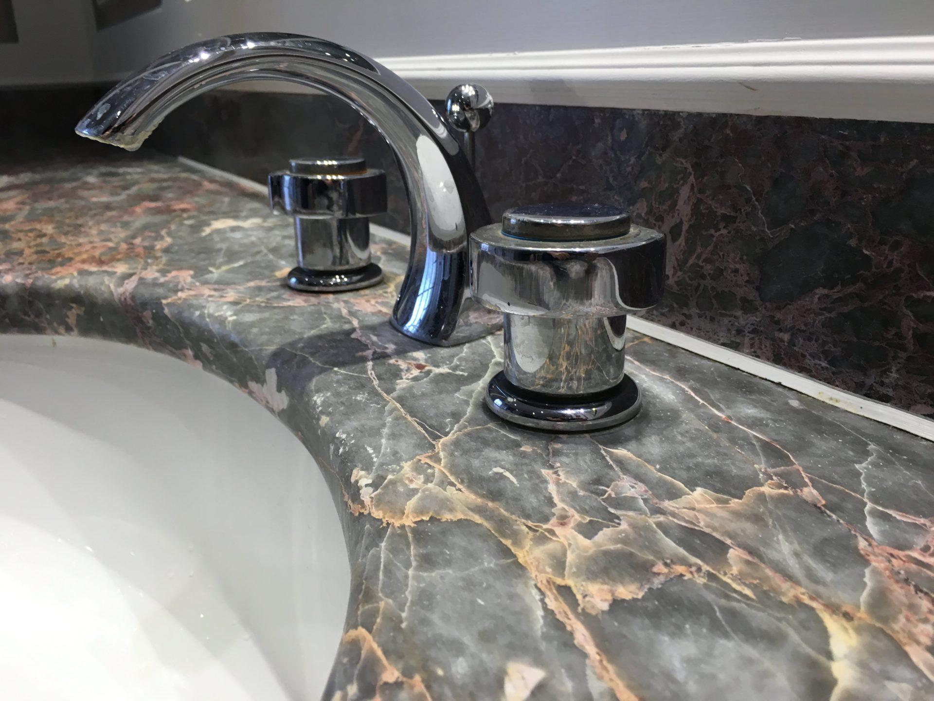 Marble Top Cleaners : Marble bathroom vanity top cleaning polishing sealing