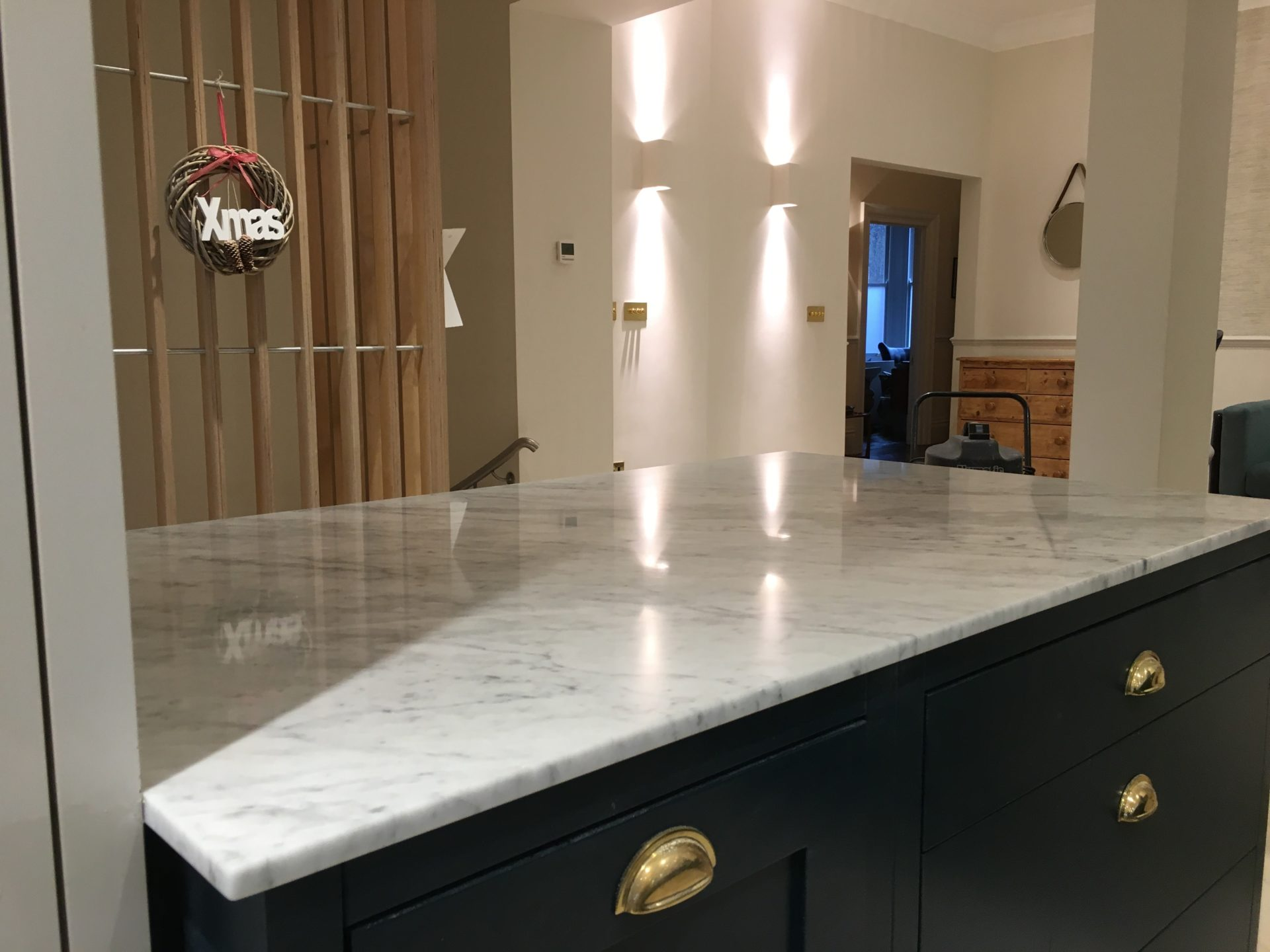Marble Kitchen Worktop Cleaning Polishing Sealing Hove East Sussex